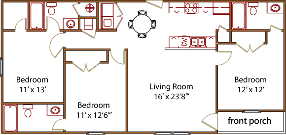 Floor Plans | Trails End